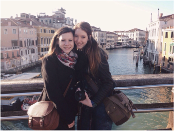 Public Relations students in Florence